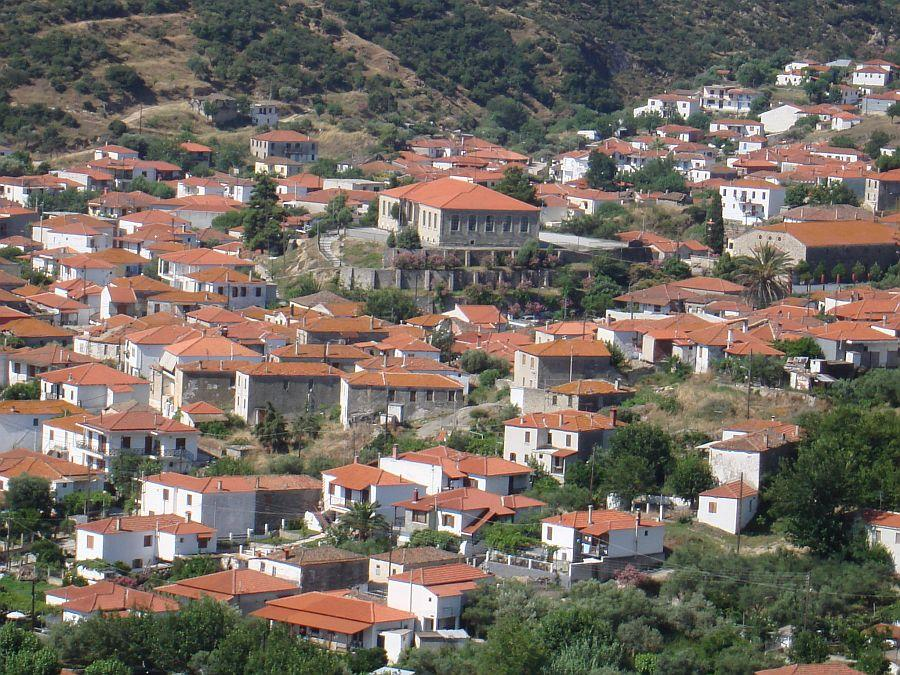 Sykia Halkidiki the village