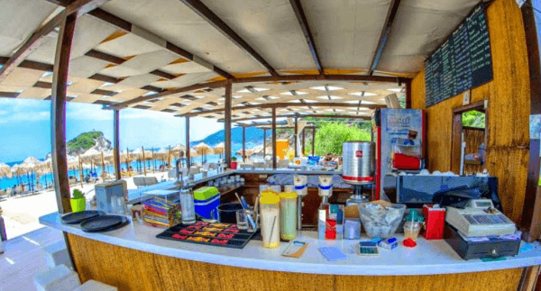Beach bar Chikas