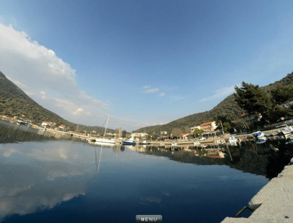 360 Porto Koufo λιμάνι - Πανόραμα 1