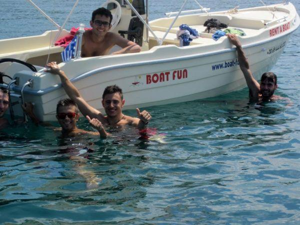 Boat Fun rental